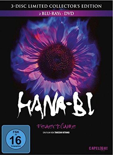 [Dodax] Hana-Bi - Feuerblume (2 Blu-rays + 1 DVD) von Takeshi Kitano als Limited Collector's Edition im Mediabook für 10,65€