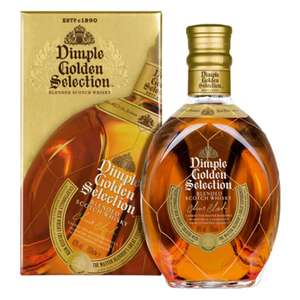 Dimple Golden Selection Blended Scotch Whisky 40% Vol. / Ab 29 Euro keine VSK