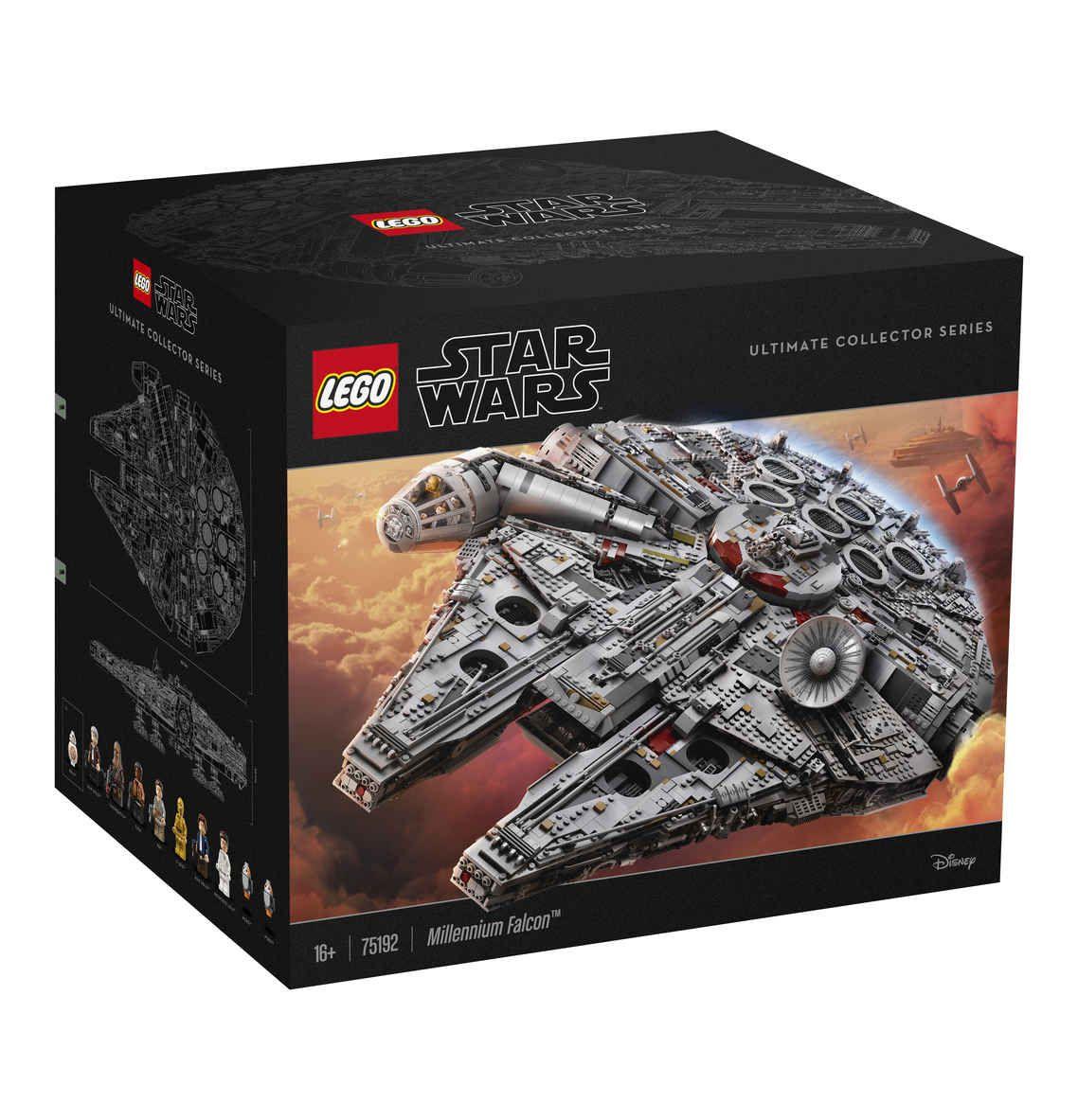 Lego Star Wars Millennium Falcon UCS 75192 wieder verfügbar