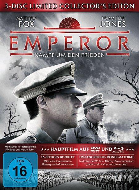 Emperor - Kampf um den Frieden Limited Collector's Edition + Mediabook (Blu-ray + 2 DVDs) für 4,99€ (Dodax)