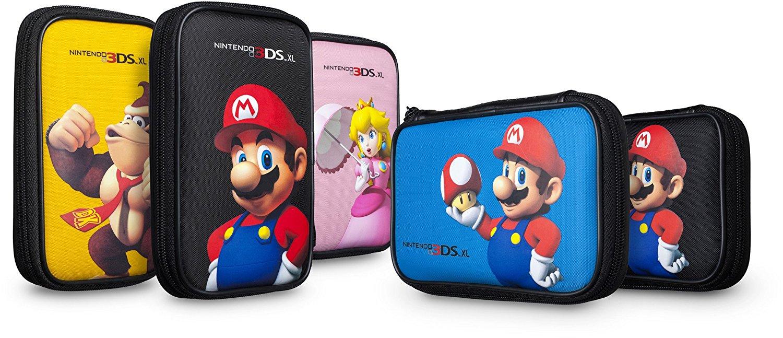 Nintendo New 3DS XL / 3DS XL Tasche verschiedene Motive (nicht freiwählbar) für 6,99€ (Saturn & Dodax)