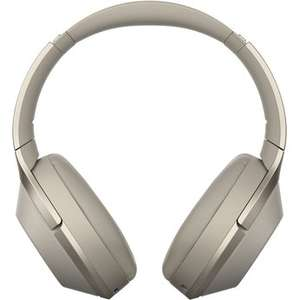 Sony Kabelloser High-Resolution WH-1000XM2 Kopfhörer mit Noice Cancelling; Farbe: Champagner-Gold