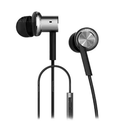 Original Xiaomi Mi IV Hybrid Dual Drivers Earphones / Kopfhörer (Silber) für 12,30€