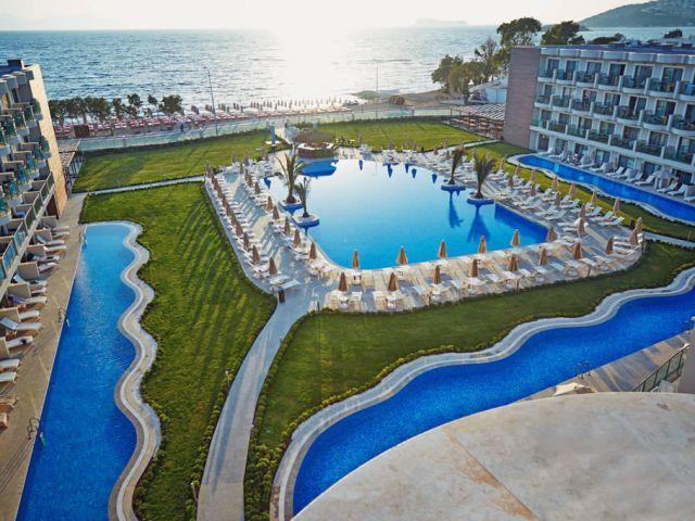 7 Tage Türkei Bodrum 5 Sterne All Inklusive Plus Spa Hotel ab Dresden/Köln/Stuttgart 193€ p.P. auch Singles (200€)!!