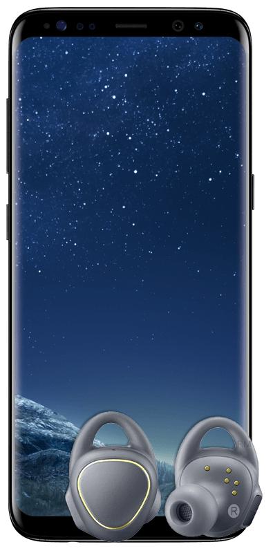 MediaMarkt: SAMSUNG Galaxy S8 & Gear IconX 2018 mit Schubladenvertrag