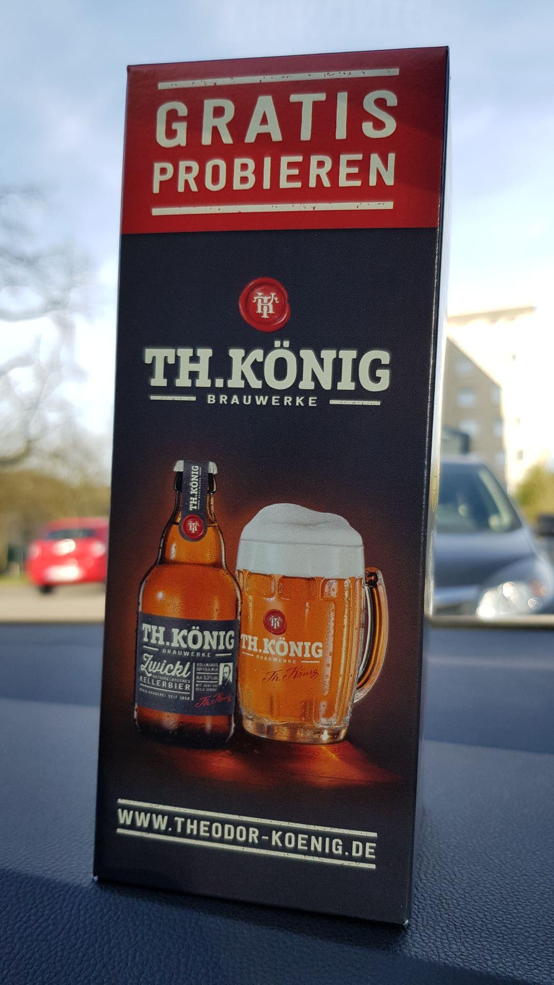 [Lokal Mülheim a. d. Ruhr] Th. König Brauwerke Bier 0,33 Liter kostenlos!