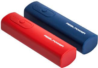 RealPower PB-T1 Doppelpack – 2er-Set Powerbank für 7,99€ @ Media Markt