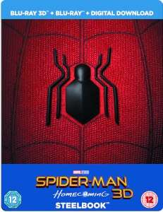 Spiderman Homecoming Steelbook Limited Edition (keine dt. Tonspur!!)