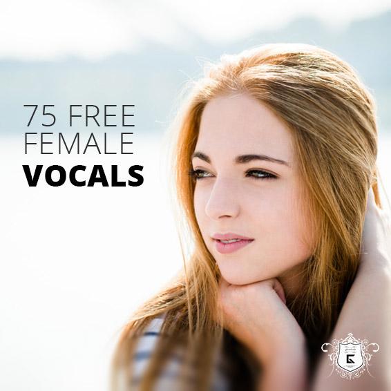 75 Freie Vocal Samples (Frauenstimmen) von Ghosthack