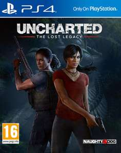 Uncharted: The Lost Legacy inkl. Jak and Daxter: The Precursor Legacy (Download)​ (PS4) für 18,18€ (ShopTo)