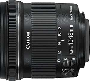 Canon EF-S 10-18mm f4.5-5.6 IS STM (Amazon.es)