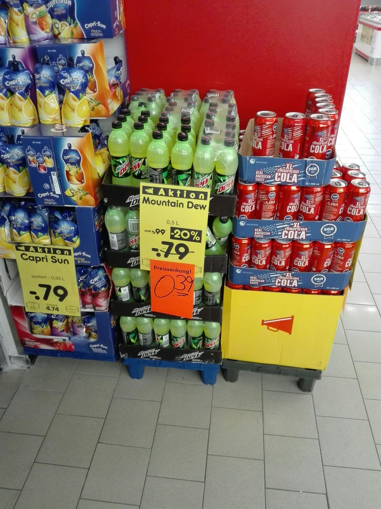 [Lokal Netto MD Annweiler] Mountain Dew 0,5l Flasche für 39 Cent