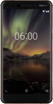 Nokia 6 (2018) mit Android One   schwarz   FonFonFon.de