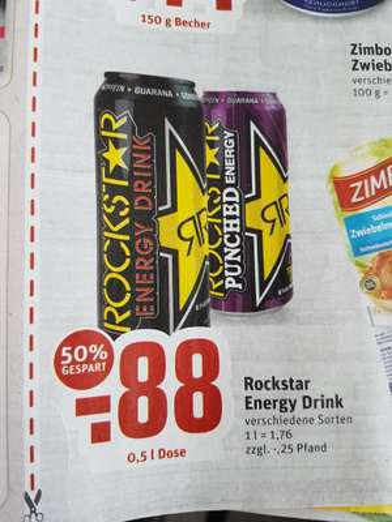 (Rewe-Dortmumd) Rockstar Energy Drink für 0,88€