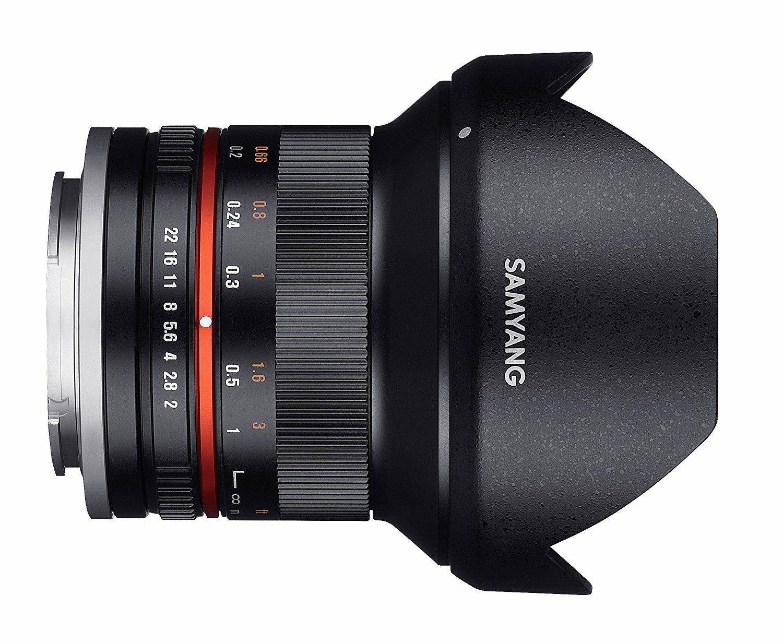 Samyang 12/2,0 Objektiv APS-C MFT - Objektiv // Amazon.es