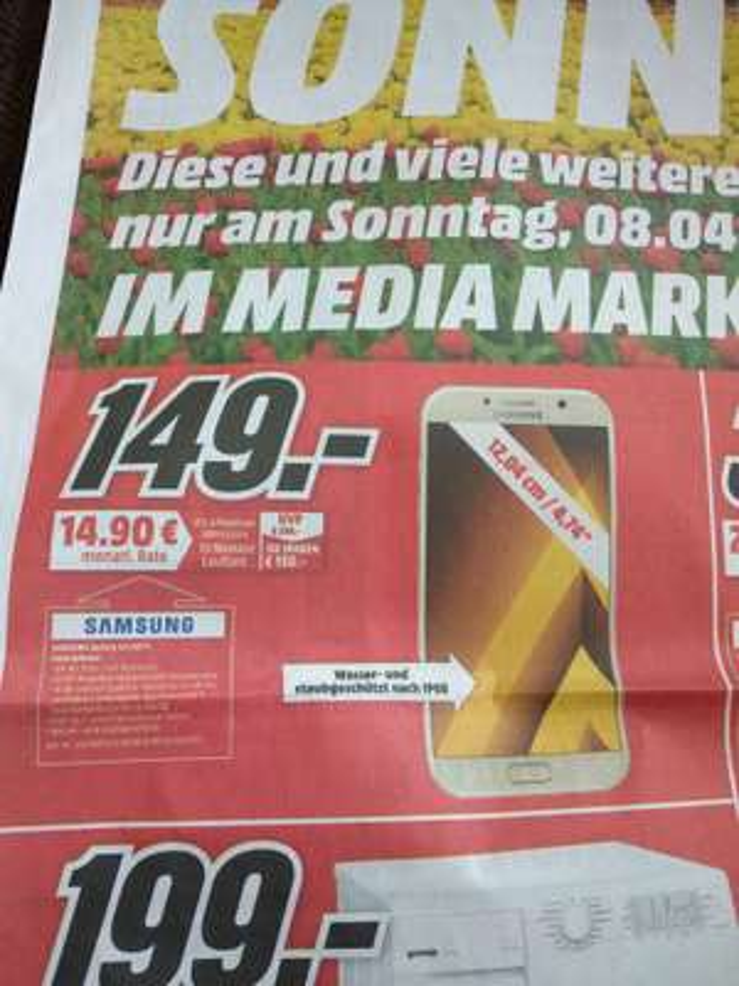 LOKAL Worms Media Markt Galaxy A3
