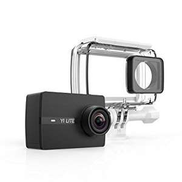 YI Lite Actioncam mit wasserfestem Gehäuse