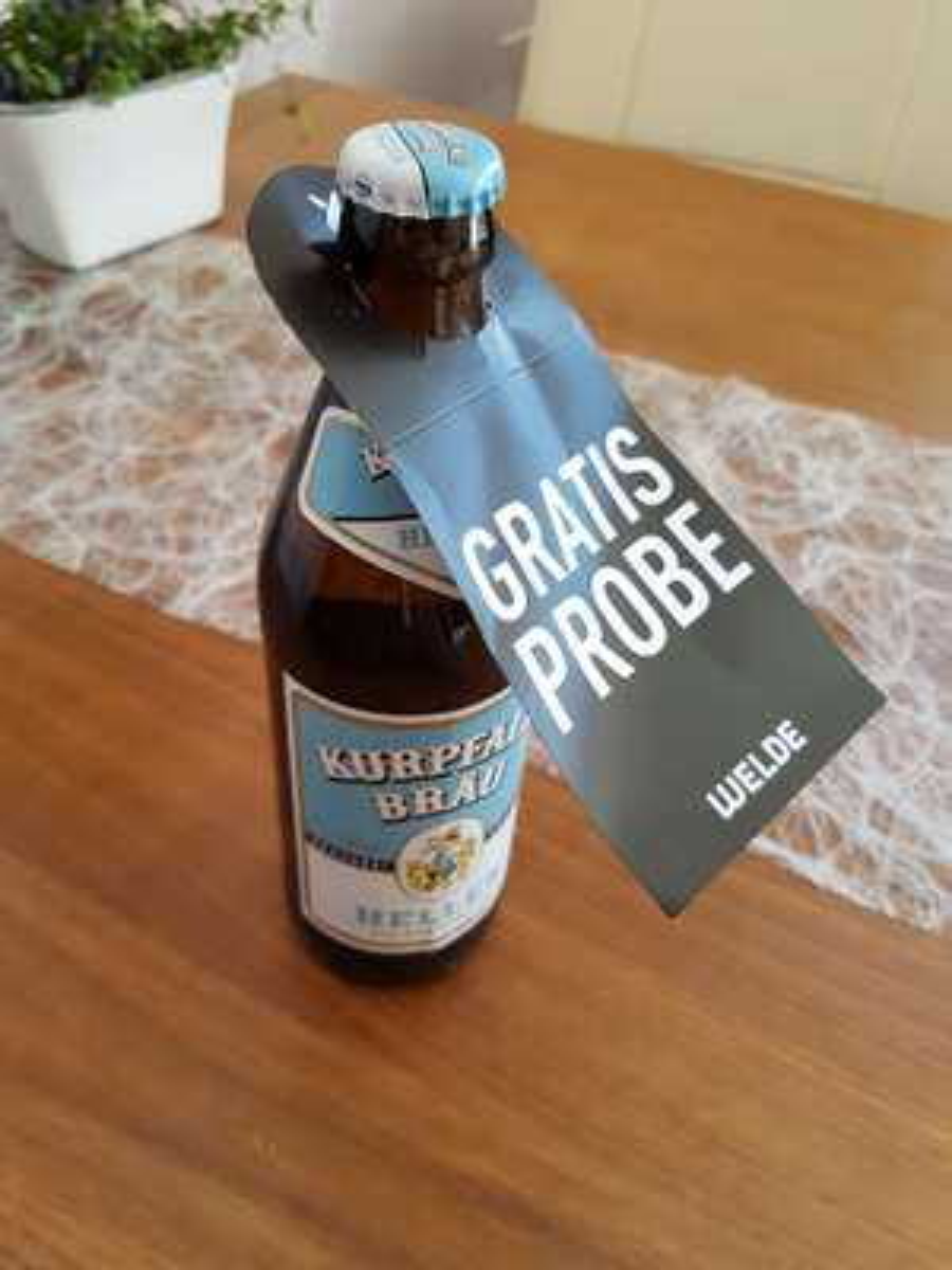 [Lokal - Heidelberg] Passend zum Wetter - Frei-Bier bei Kaufland