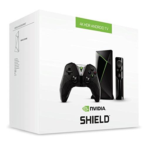 Nvidia Shield TV Media Streaming Player (16 GB, inkl. Fernbedienung & Shield Controller) schwarz für 175,98€ (Amazon UK)