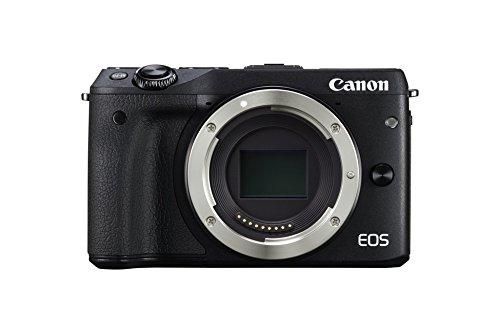 Canon EOS M3 Systemkamera mit 24 Megapixel APS-C Sensor nur Gehäuse (Amazon.es)