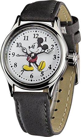 [watches2u UK] Absolute Kult-Damenuhr mit dem Mickey Mouse Zifferblatt - Disney-Klassiker by Ingersoll