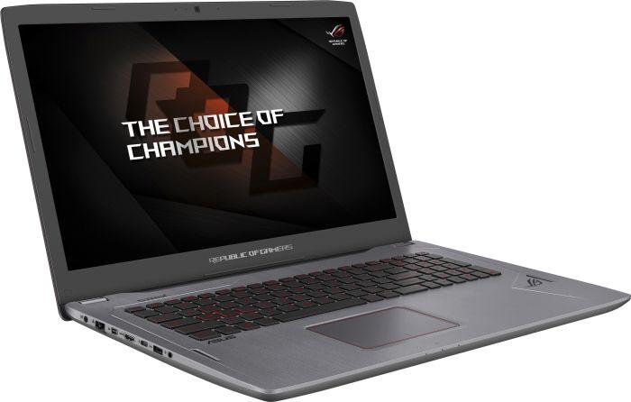 ASUS ROG Strix GL702VM Gaming-Notebook (17,3'' FHD IPS G-Sync matt, Geforce 1060/6GB, i5-7300HQ, 8GB RAM, 256GB SSD + 1TB HDD, bel. Tastatur, Win 10) für 999€ [Mediamarkt]