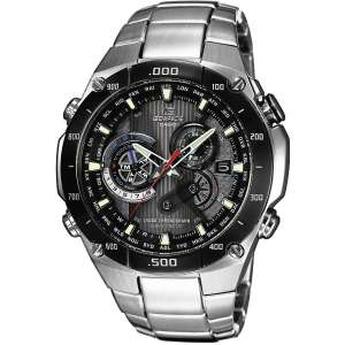Casio Herren-Armbanduhr Funk Solar Chrono Edifice EQWM1100DB1AER für 124,15€ [Karstadt]