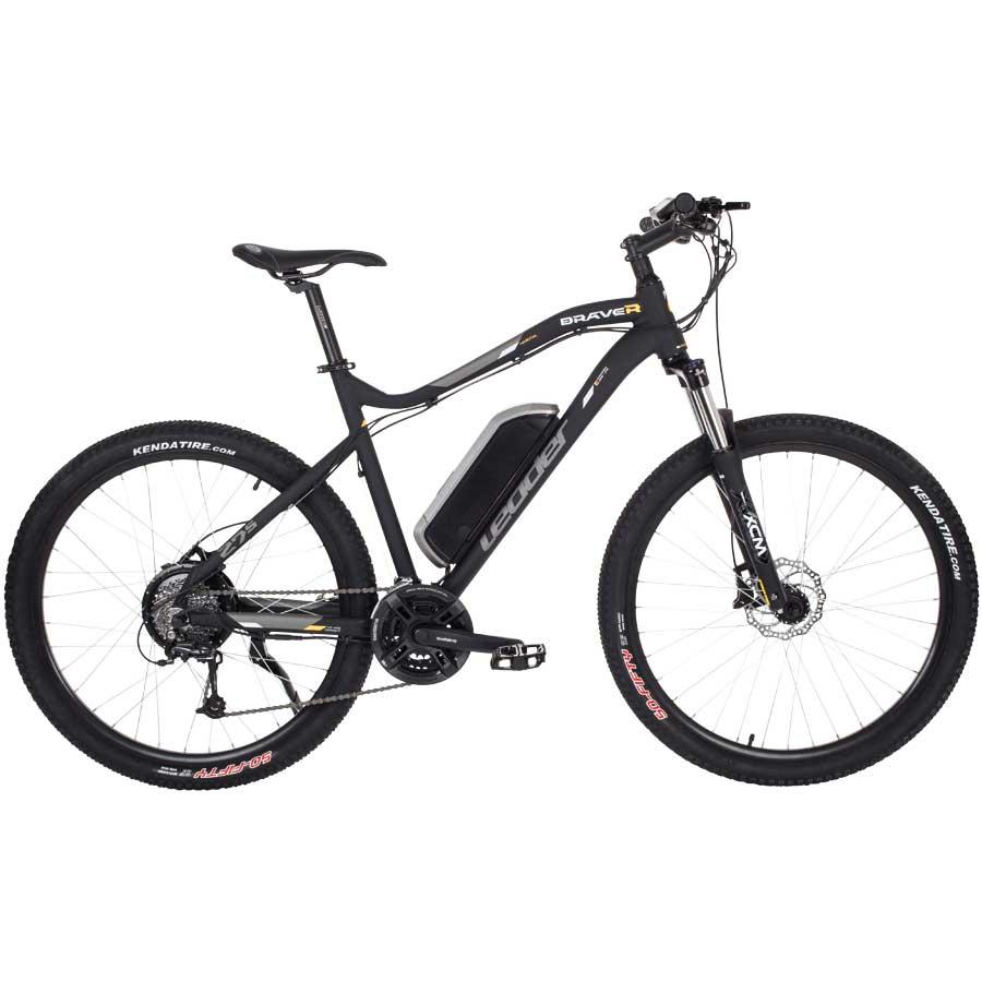 Leader eBike Braver 27,5 Zoll (Pedelec) Mountainbike mit Shimano Deore / FD-TX50-6 (nur mit Filialabholung)