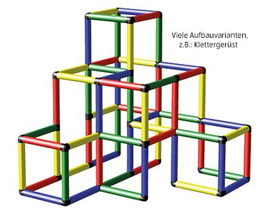 [Aldi Süd] - ab 12.04. - Quadro Klettergerüst - solides Set mit Standardteilen