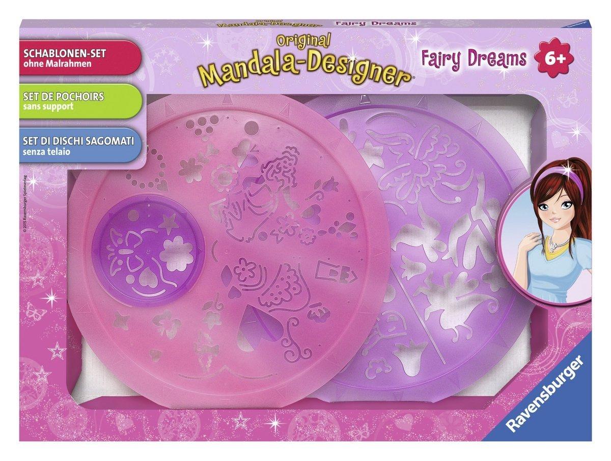 Ravensburger Mandala-Designer Schablonen-Set Fairy Dreams