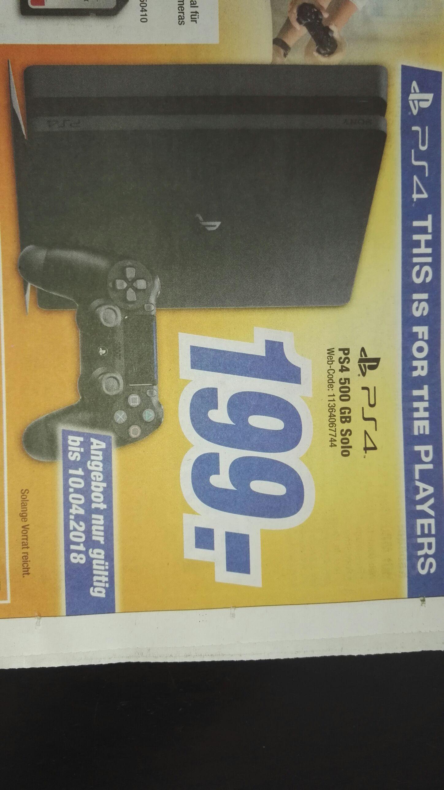[Lokal Lichtenfels / Oberfranken] Playstation 4 Slim 500GB + Controller