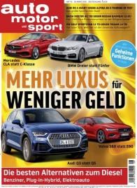 Auto Motor Sport für 117€ mit 110€ Amazon Gutschein oder 105€ Verrechnungsscheck als Prämie