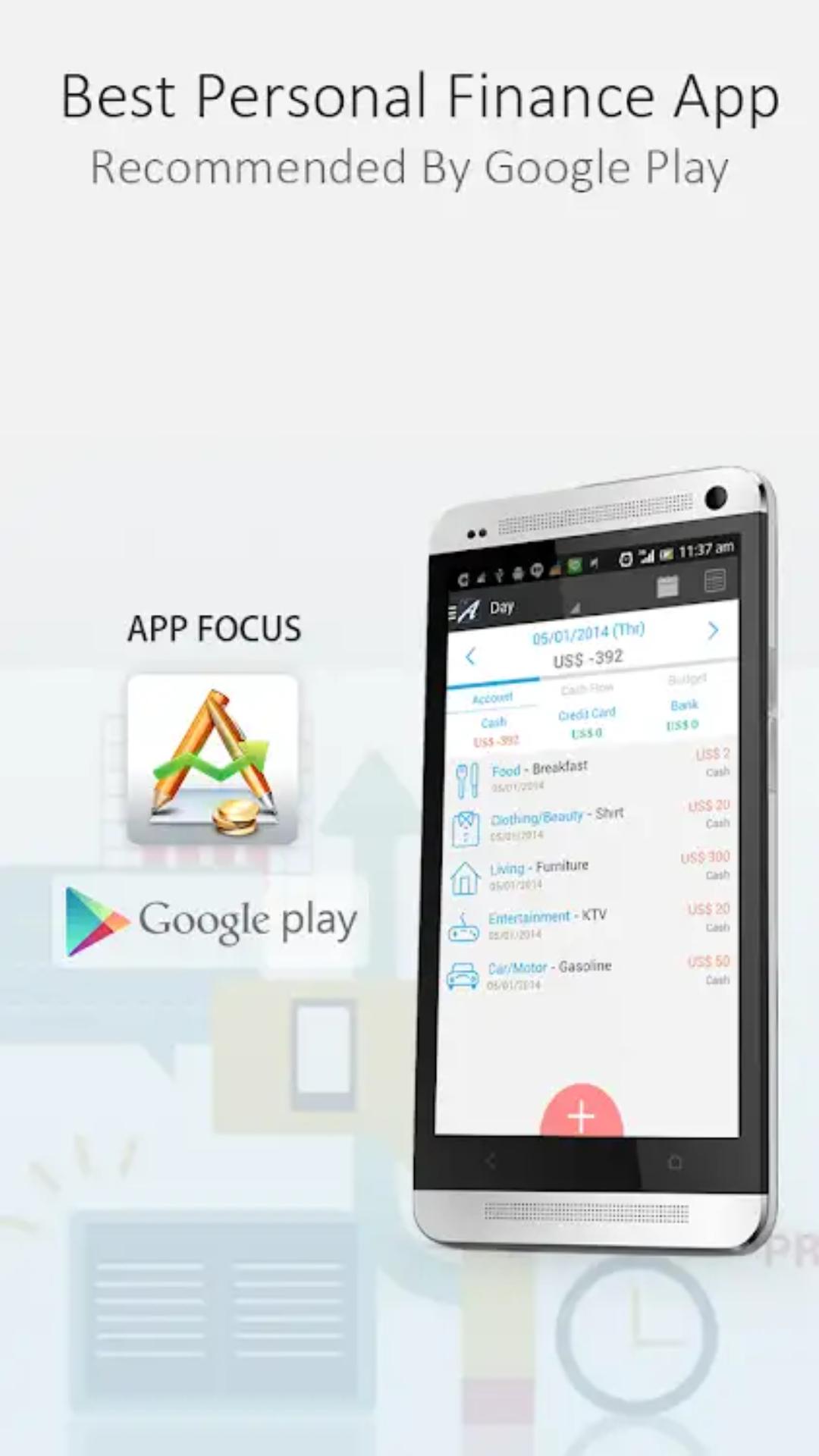 (Android App) AndroMoneyPro (7,6€ günstiger) [4,7*/10k R.]