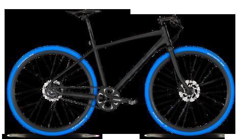 Schwalbe KOJAK Slick-ReifenTrekking/Rennrad in BLAU in D. sonst nicht erhältlich