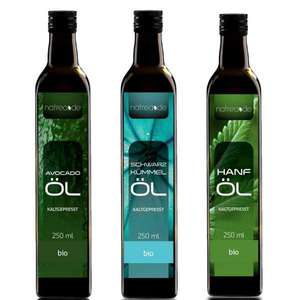 [Natrea] 250 ML Avocadoöl + Schwarzkümmelöl + Hanföl // 25,80 mit VSK