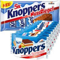 5er Pack Knoppers NussRiegel für nur 1,47€ bei (Hit ab 11.4.) / Hela Curry Gewürzketchup für 1,49€