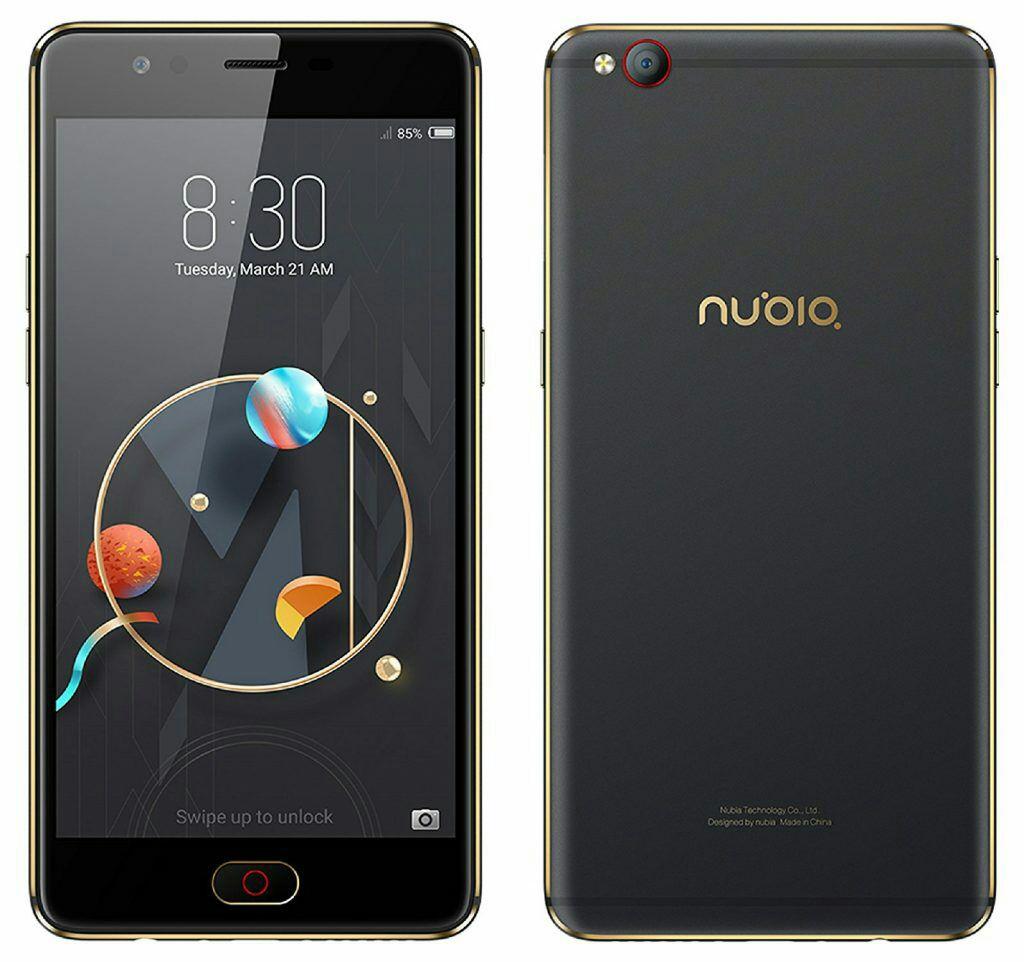 """Nubia M2 Lite black/gold Edition mit 64gb Internspeicher & 3gb Ram & 5.5"""""""