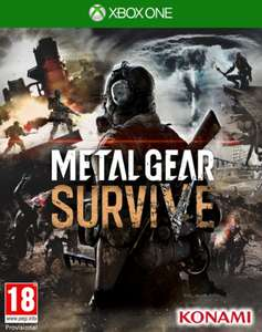 Metal Gear Survive The Day One inkl. Survival Pack (Xbox One & PS4) für je 17,70€ (ShopTo & Base.com)