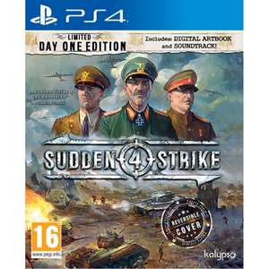 Sudden Strike 4 Limited Day One Edition (PS4) für 20,80€ (Base.com)