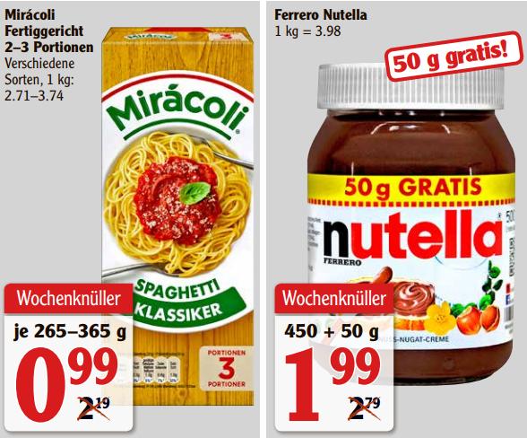 [Rüsselsheim] Miracoli Fertiggerichte für 0,00€ (Angebot+Coupon) bei Globus