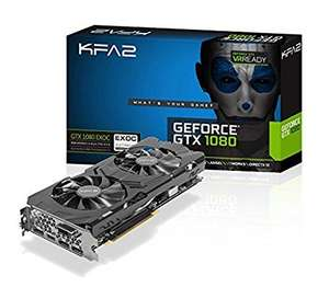 KFA2 GeForce GTX 1080 EXOC Grafikkarte PCI-E Gaming schwarz