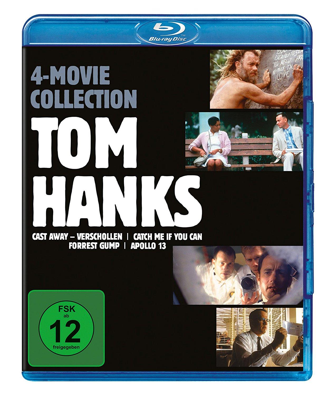Tom Hanks - 4-Movie-Collection (Blu-ray) für 17,54€ (Media-Dealer)