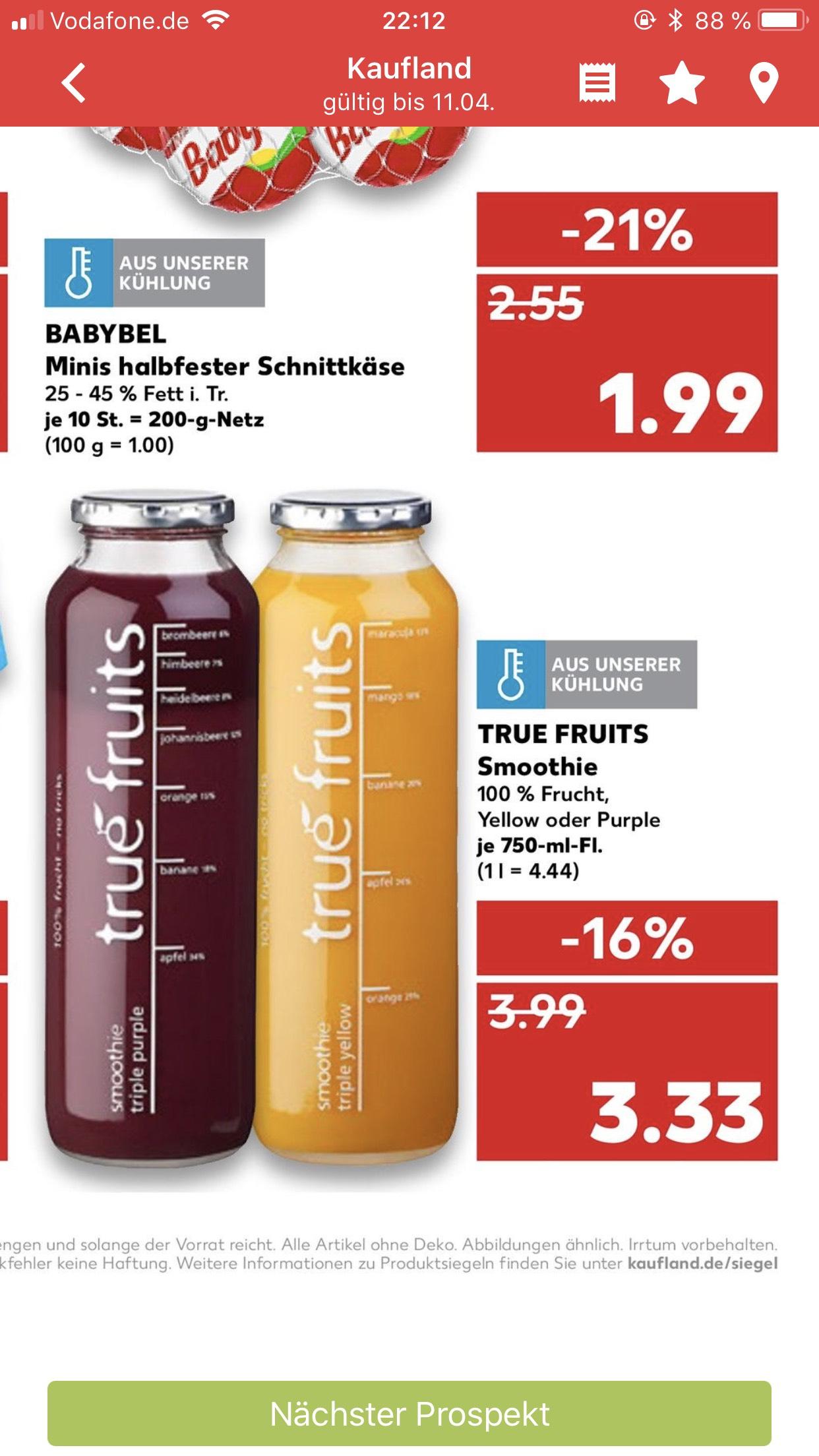 [KAUFLAND] True Fruits 750 ml Flasche