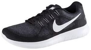 Nike Free Run 2 Laufschuhe Sneakers HERREN Sportschuhe Freizeitschuhe in schwarz