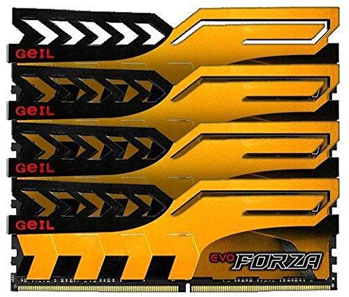 GeIL EVO Forza DIMM Kit gelb 16GB, DDR4-2400 Amazon Vorbestellbar