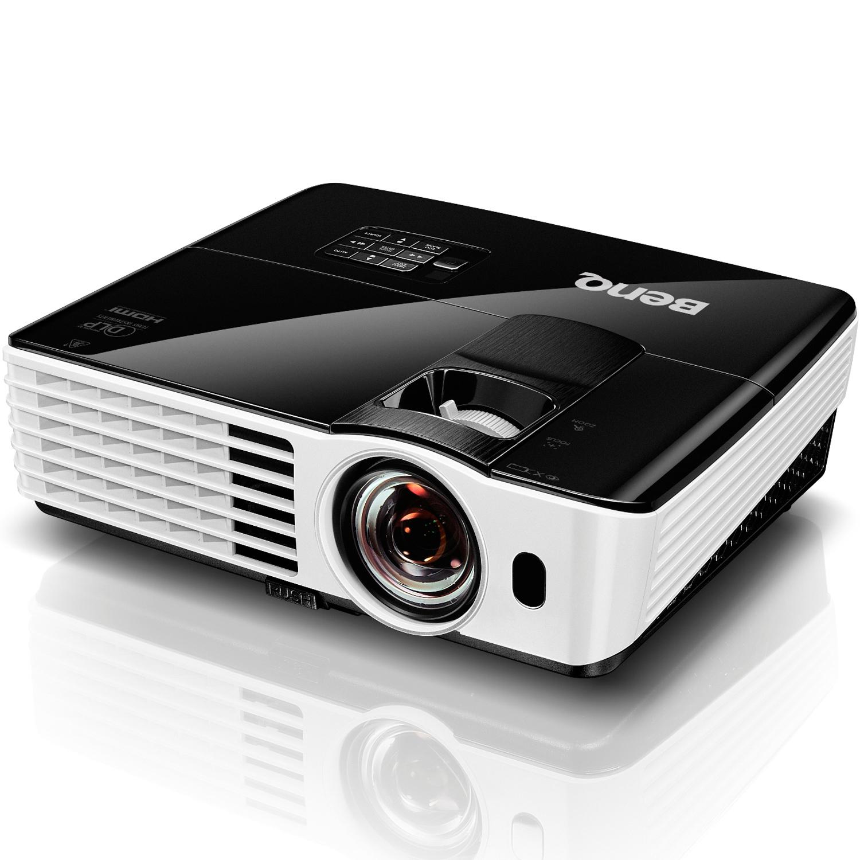 [nbb] BenQ TH682ST Kurzdistanz 3D DLP-Projektor (3D 144Hz Triple Flash, Full HD 1920x1080 Pixel, Kontrast 10.000:1, 3.000 ANSI Lumen, HDMI, Lautsprecher) schwarz