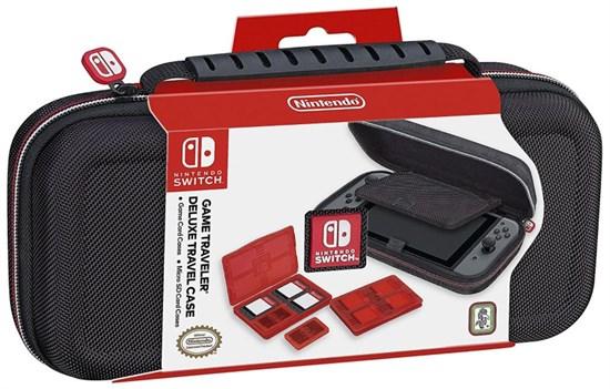 Nintendo Switch Travel Case Deluxe inkl. Zubehör-Set (Schwarz & Mario Kart 8) für je 14,96€ (GameStop)