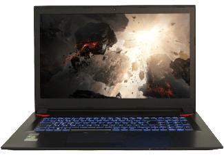 Hyrican Gaming-Notebook (17,3'' FHD IPS matt, Geforce 1060/6GB, i7-7700HQ, 1TB HDD) für 999€ [Mediamarkt]