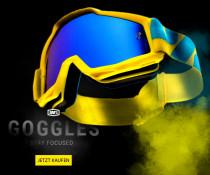 15% Extrarabatt auf Goggles von 100%, z.B. die 100% Racecraft Premium MX Goggle für eff. 48,86€ statt 57,90€