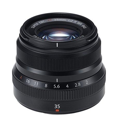 Fujifilm Fujinon XF 35mm f2.0 R WR schwarz für 345,03€ [Amazon.es]
